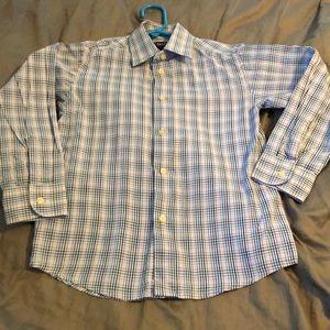 Boys chaps size 8 long sleeve shirt